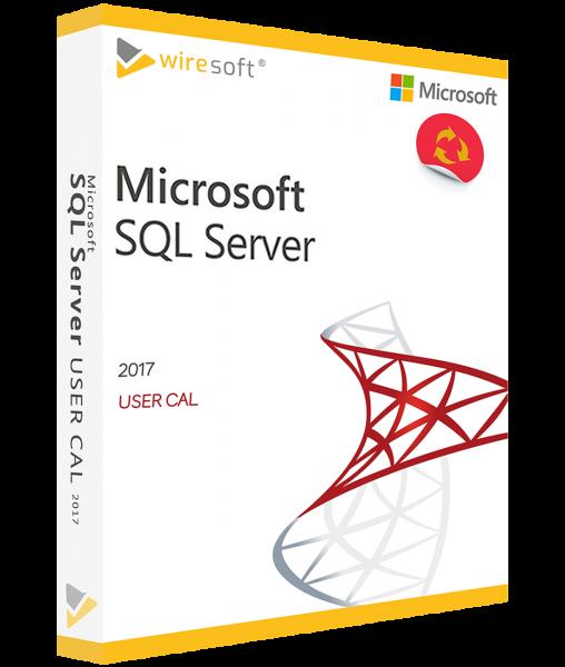 MICROSOFT SQL SERVER 2017 USER CAL