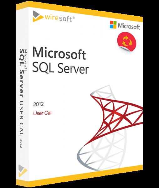 MICROSOFT SQL SERVER 2012 BENUTZER CAL