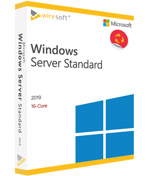 MICROSOFT WINDOWS SERVER 2019 STANDARD 16-CORE