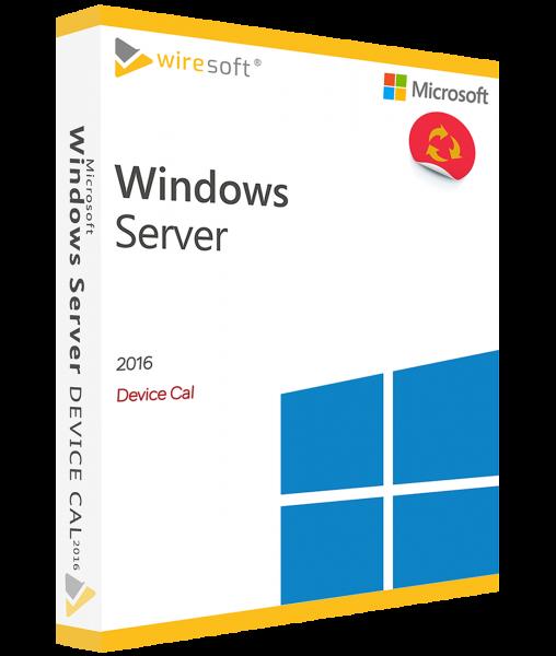 MICROSOFT WINDOWS SERVER 2016 DEVICE CAL