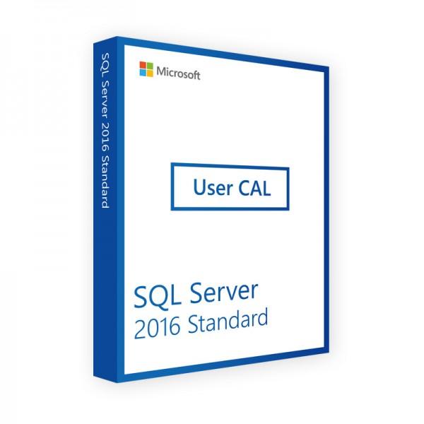 MICROSOFT SQL SERVER 2016 USER CAL